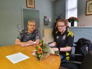 Moesker en Biewenga ook volgend seizoen actief bij V.V. Poolster
